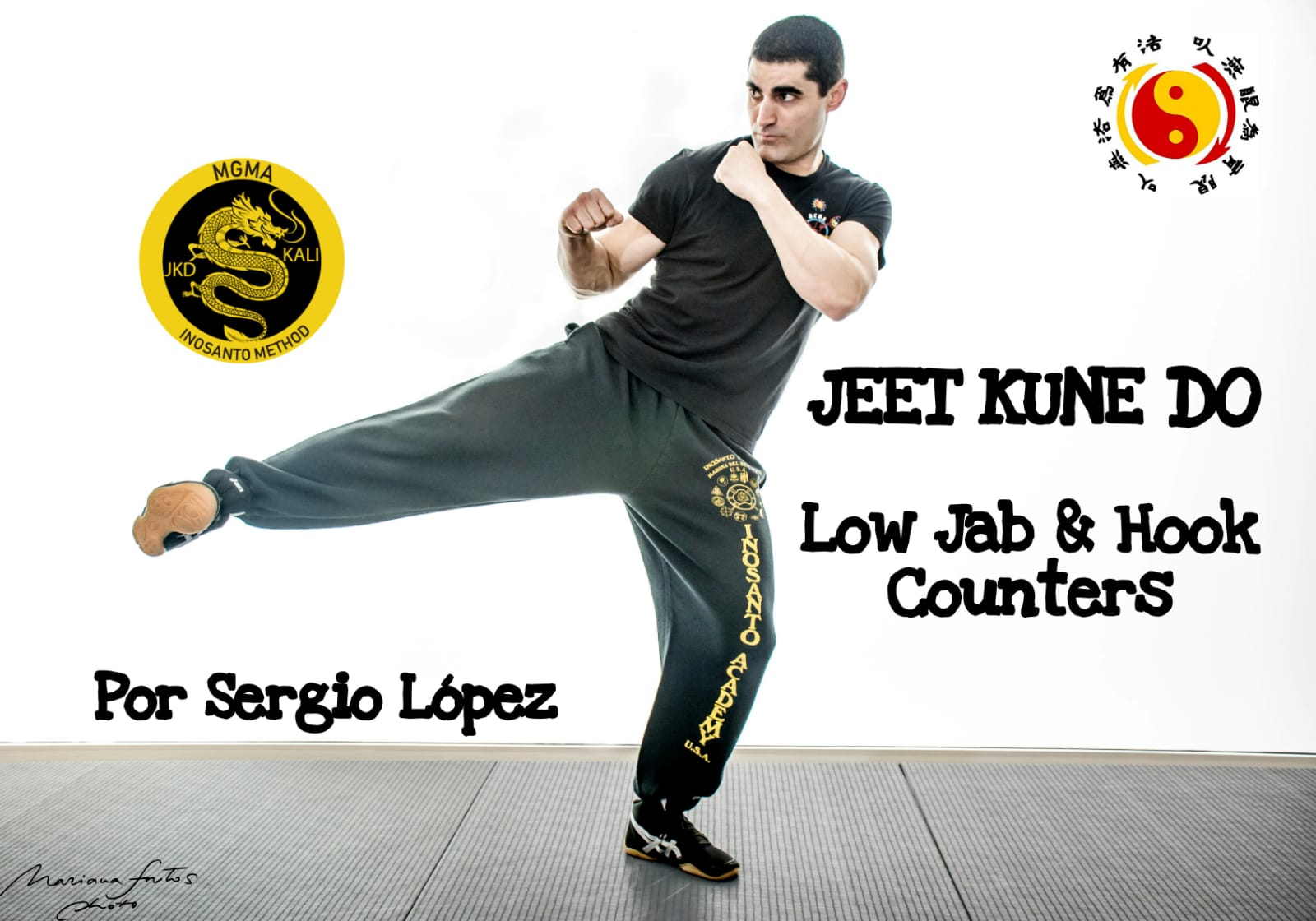 Low Jab and Hooks by Sergio López JKD
